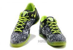 bf19a18aca55 Nike Kobe 8 System Mens Gray Black Fluorescent Green Lastest