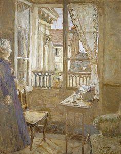 Edouard Vuillard, La Fenêtre Ouverte (The Open Window), ca.1902-03