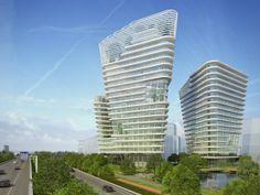 MVSA -  Kop Zuidas towers - Amsterdam