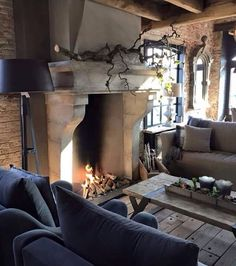 30 European Cottage Design Inspiration - Cottage are usually well known in several countries European nations and Canada especially. An exhaustive number of Cottage comes in various locations. by Joey House Styles, Interior Design, Cottage Design, Rustic Living, Home, Interior, Country Cottage Decor, Fireplace, Home Decor