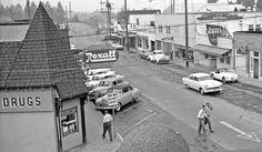 Portland Oregon: 1950s and '60s Vintage Street Scenes