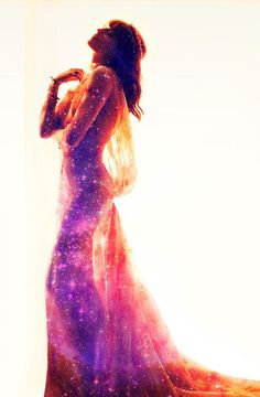 I want to feel this beautiful on my wedding day, feeling my inner star dust call and connect to his <3