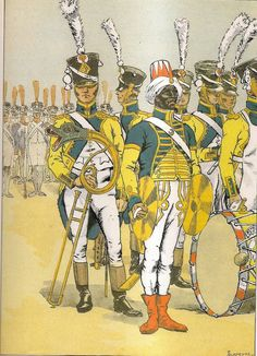 French; 67th Line Infantry, Musicians, Grande Tenue 1808