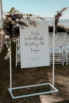 Top 20 Simple Minimalist Welcome Wedding Signs Why not make wedding preparations simple with minimalist bridal decorations? Minimalism has become a wedding trend this . Cute Wedding Ideas, Wedding Goals, Wedding Beauty, Wedding Trends, Our Wedding, Wedding Planning, Dream Wedding, Church Wedding, Fall Wedding