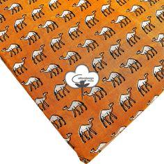 Animal camel print fabric Cotton Hand Block Print Fabric By the yard Women Kids Girls Dressmaking Fabric, Upholstery Fabric CDHF#031 Shibori Fabric, Shibori Tie Dye, Dabu Print, Yellow Animals, Dressmaking Fabric, Fabric Samples, Printed Cotton, Soft Fabrics