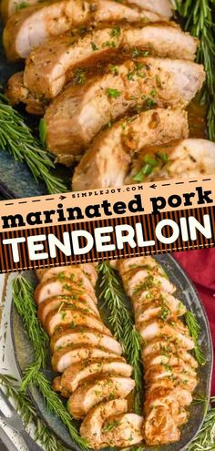 Impress everyone at Christmas dinner with this main dish! Whether baked or grilled, made in the crock pot or Instant Pot, this easy pork tenderloin recipe is moist and juicy. All thanks to the most delicious marinade!
