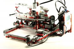14-year old builds working Lego printer.