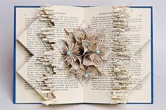 Transcendetal No. 4 (Dickinson) Book Sculpture by Johwey Redington
