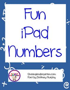 This is a free download to number your techy devices in your classroom!