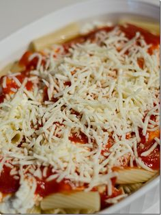 Easy Baked Ziti Recipe - It All Started With Paint
