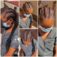 Stitch Braids, Dreadlocks, Ear, Hair Styles, Beauty, Fashion, Hair Plait Styles, Moda, Fashion Styles