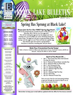 Create legally binding electronic signatures on any device in seconds. 7 Hoa Newsletters Ideas Newsletter Template Free Newsletter Templates Neighborhood Block Party