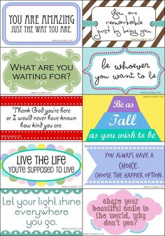 Notes & cards - printables