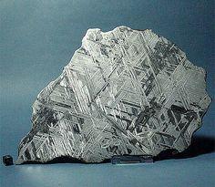 Struktur von einem Eisenmeteoriten