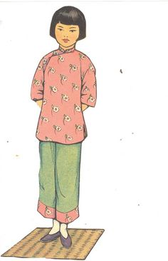 Chinese Paper Dolls 1932 – Signe Pay – Picasa Nettalbum   (3 of 3)