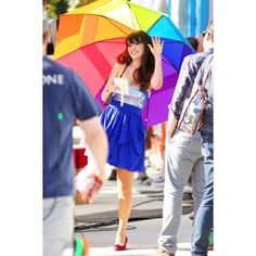 Zooey Deschanel ❤ liked on Polyvore featuring zooey deschanel, pictures and people