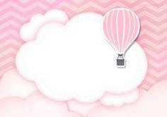 Uau! Veja o que temos para Convite Balão de Ar Quente Rosa 3