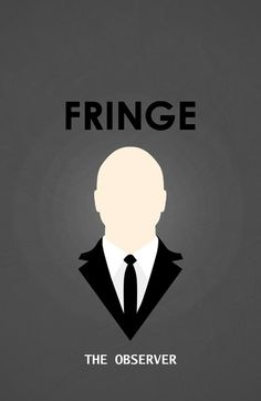 Fringe by miserym #tv #series #fringe #poster #minimalist