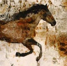 Lascaux Wall Art (not) a decorator site, doubt this is the real thing, looks cleaned up. Not ugly, but gee, people will make money on anything