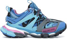 Buy and sell authentic Balenciaga Track Runners Blue (W) shoes and thousands of other Balenciaga sneakers with price data and release dates. Balenciaga Runners, Bb Logo, Runners Shoes, Balenciaga Sneakers, Mystery Box, Embossed Logo, Shoe Box, Track, Blue