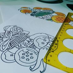Dragon Ball Dibujitos #Valencia  #tatuaje #tattoo #tinta #ink #tats #tattooing #tattoolife #lovetattoo #Eternalink #eikon #kwadromneedles #work #cheyenne #dynamic #symbeos #Spain #art #pigmentos #dark #negro #color #shadows #sombras #dots #puntillismo #watercolor #acuarela #newschool #quecorralatinta @onewaytattoovlc