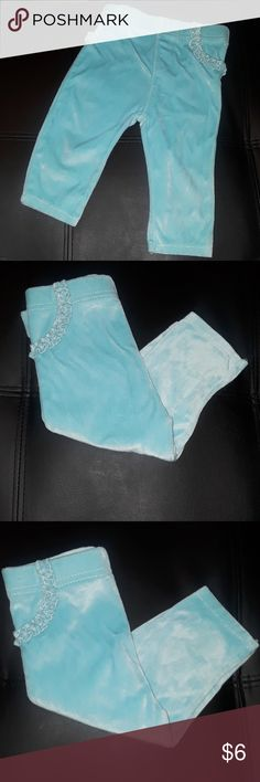3/$12 LIKE NEW GERANIMALS AQUA JEGGING PANT LIKE NEW  GERANIMALS  AQUA JEGGINGS - LIKE SWEATPANTS   VERY SOFT MATERIAL - SMOOTH TO TOUCH  6-9 MONTHS Bottoms Sweatpants & Joggers