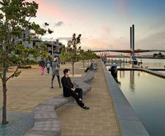 1565 outdoor benches and seats for city centres, streets, parks, transport termini, recreational areas and communal gardens. Find the best solution for your project here. Riverside Walk, Stone Bench, Street Furniture, Sidewalk, Park, City, Outdoor, Granite, Outdoors