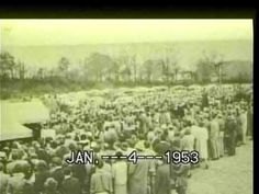 The Funeral Of Hank Williams Sr, 1--4--1953 - YouTube