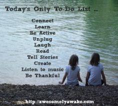 A Thinking Mama's To-Do List - Abundant Mama