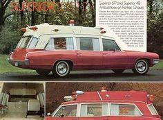 1970 Pontiac Superior ambulance