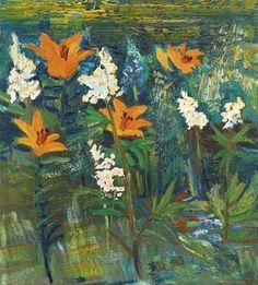 "huariqueje:  ""  Grundsunda - Hans Wigert, 1976  Swedish,b.1957-  Oil on canvas, 60 x 55 cm. (23.6 x 21.7 in.)  """