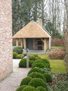 Garden Buildings, Garden Structures, Outdoor Structures, Outdoor Garden Rooms, Outdoor Gardens, Natural Swimming Ponds, Backyard Trampoline, Barn Renovation, Classic Garden