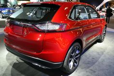2015 Ford Edge Concept red colour