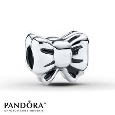 Pandora Charm Gift Bow Sterling Silver