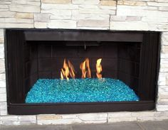 we will be updating our fireplace to use glass rocks rather than rh pinterest com glass bead fireplace conversion glass bead fireplace lp gas