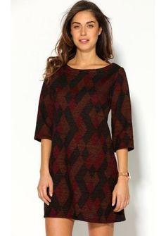Pleteninové šaty s grafickým designem #ModinoCZ