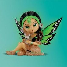Purespring Spirit / Renewal Fairy - Spirit Maidens - Jasmine Becket Griffith - Bradford Exchange