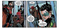Detective Comics 47. Tim Drake. Red Robin. Damian Wayne. Robin. Jason Todd. Red Hood.