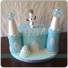 Frozen birthday cake w olaf