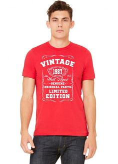 well aged original parts limited edition 1987 Tshirt