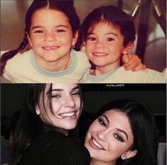 Kylie Jenner recreates childhood photo with sister, Kendall - http://www.thelivefeeds.com/kylie-jenner-recreates-childhood-photo-with-sister-kendall/