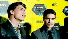 Zane Holtz and DJ Cotrona at SXSW