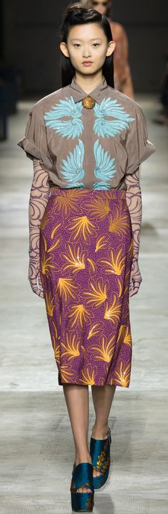 Dries Van Noten - Spring 2016