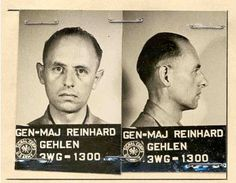 The information was uncovered by an Independent Historical Commission hired by the German foreign intelligence service, the BND, to determine the inluence former Nazis on it during the early days of its creation. The Gehlen Organization (named after General Major Reinhard Gehlen, pictured here), the predecessor to the BND, maintained contacts with Albert Schnez, the man behind the army.