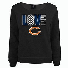 NFL Chicago Bears Youth Love Fleece Shirt, Girls X-Large (14/16), Black Heather NFL Brand http://www.amazon.com/dp/B00LHUK9XK/ref=cm_sw_r_pi_dp_yAEGvb10YJPSP