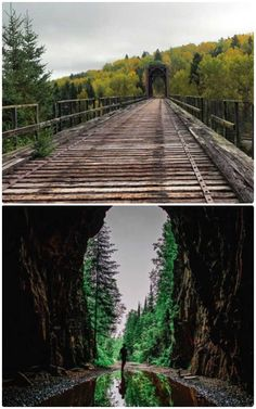 Ontarios Flett Tunnel Hike Takes You Along A Stunning Abandoned Railway Track Ontario is full of stu Places To Travel, Places To See, Ontario Place, Canadian Travel, Canadian Rockies, Ontario Travel, Hiking Spots, Future Travel, Day Trips