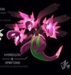 Hydreigon and spiritbomb