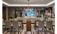 Sala de jantar da arquiteta Iara Leão para Mostra de Ambientes Decorados Líder 2015. Foto: Jomar Bragança
