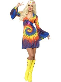 Haha, what a cute Hippy costume!