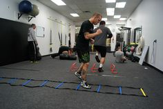 Speed Training for MMA: Improve your footwork speed with basic ladder drills.